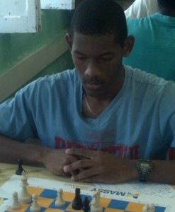 Emar Edwards of Combermere is the new Under-18 national chess champion